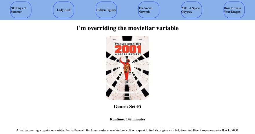 2001: A Space Odyssey - Overwritten