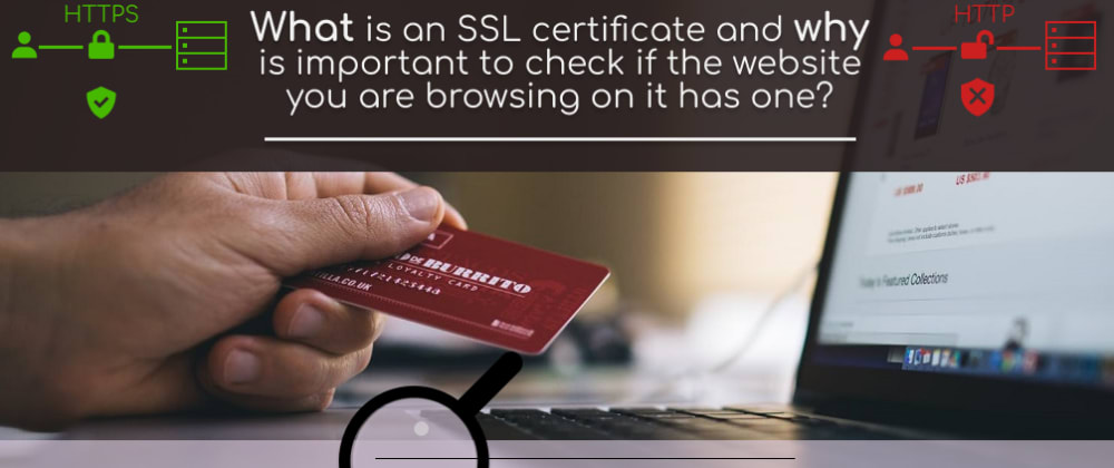 Cover image for What is an SSL Certificate? 💻🔐