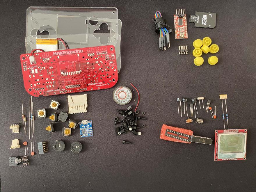 makerbuino's box