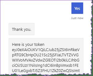 Token de usuario