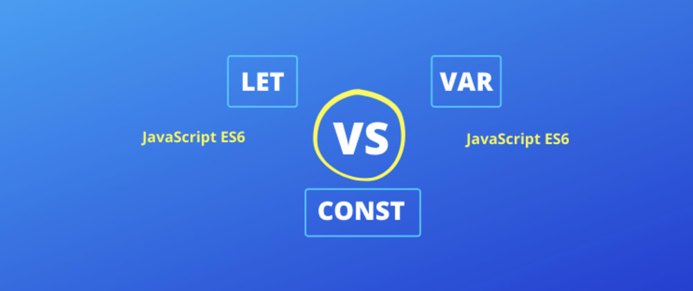 Cover image for Differences between Let Var Const that you didn't know - ES6 [Video + Article]