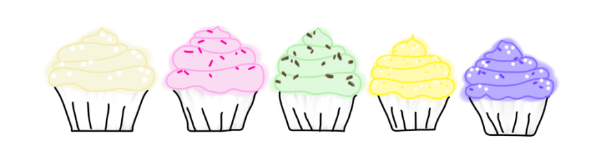 Types of cupcakes