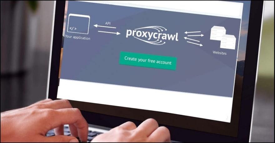 Proxy API Scraping uses