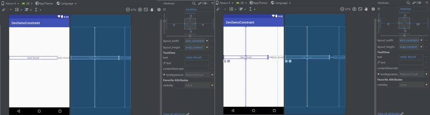 ConstraintLayout beginners guide Part I: Designing a