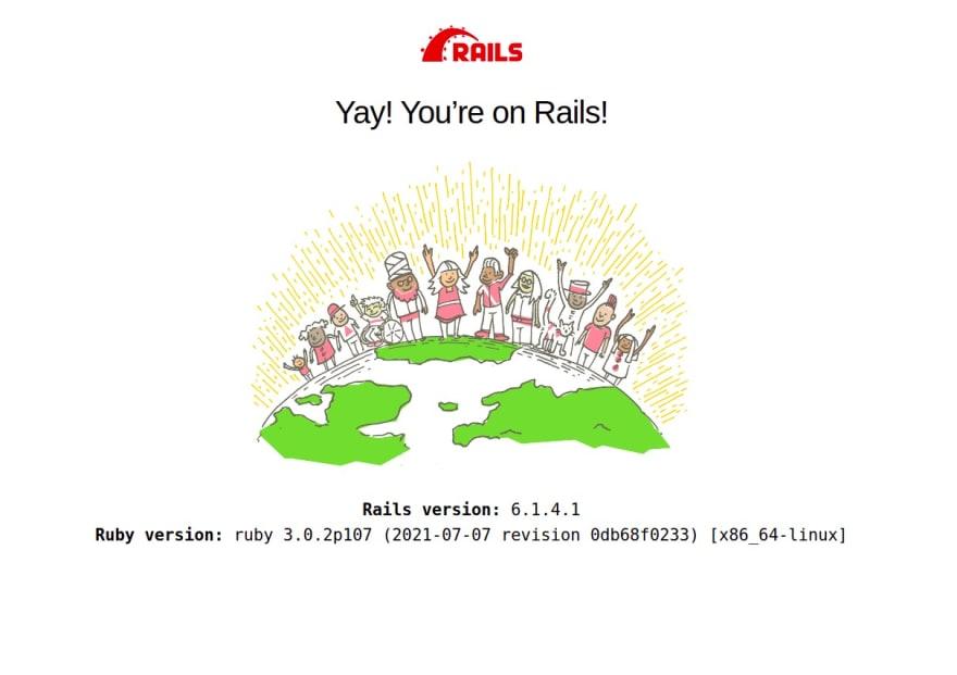 דף הפתיחה של ריילס