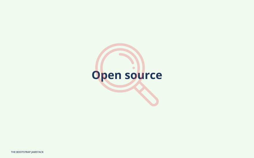 Open source first