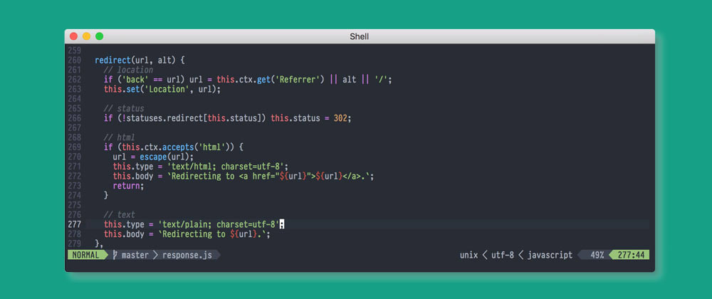 Cover image for Vim theme + plugin manager!