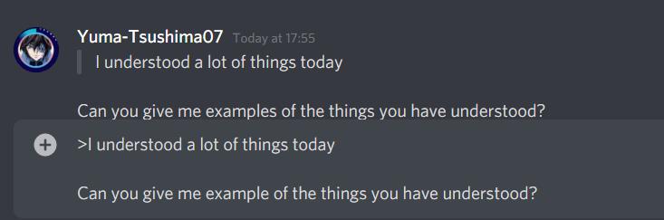 block quotes