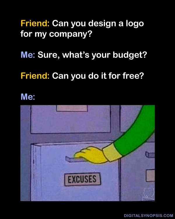 Graphic designer meme