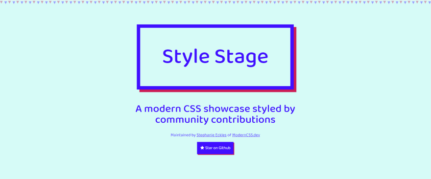 Style Stage homepage