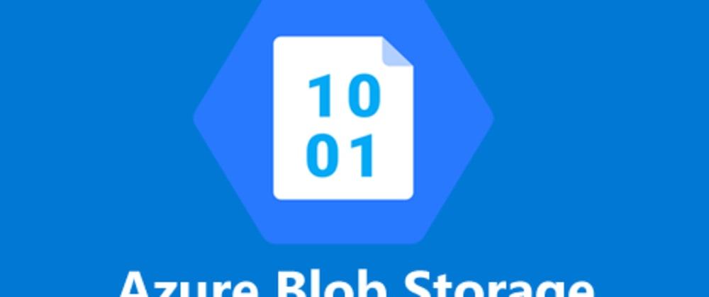 Cover image for Upload files to Azure Blob Storage with React
