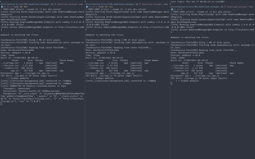start nodes