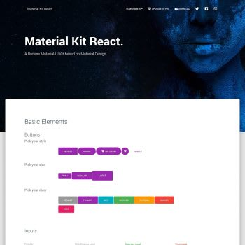 Free Material Kit React