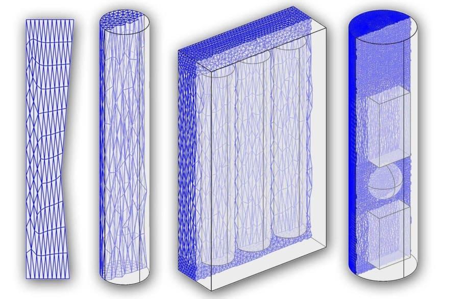 Anisotropic mesh generation