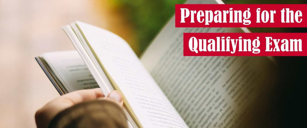 Cover image for Preparing for the Qualifying Exam