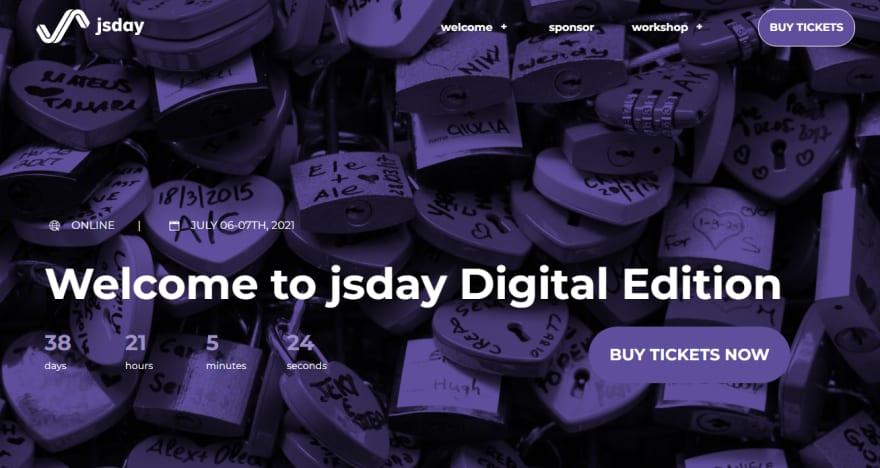 jsday 2021 Developer Conference