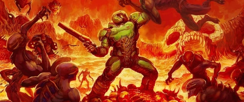 Cover image for Doom Captcha - Captchas don't have to be boring