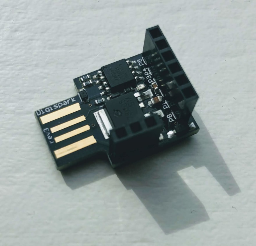 Using the Digispark as a cheap USB Rubber Ducky - DEV