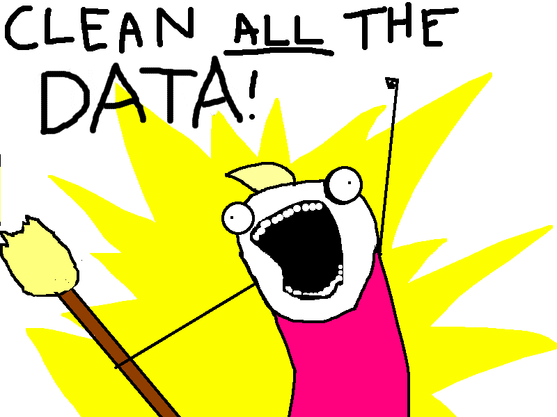 Clean all data