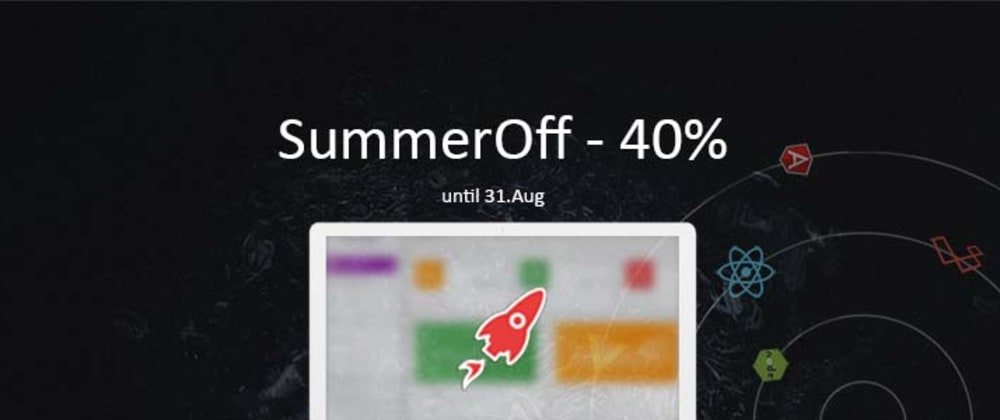Cover image for AppSeed - 40% Off Summer Deal for ALL commercial products