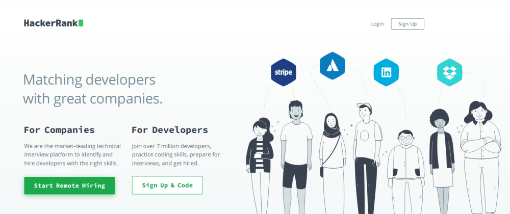 Cover image for If you are looking for job, HackerRank offer industry-vetted skills directory