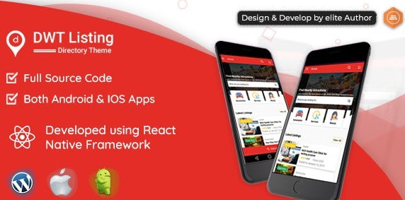 DWT Listing - Directory & Listing React Native App