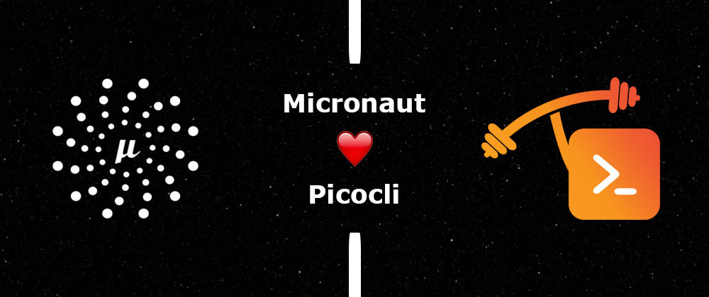 Cover image for CLI applications with Micronaut and Picocli