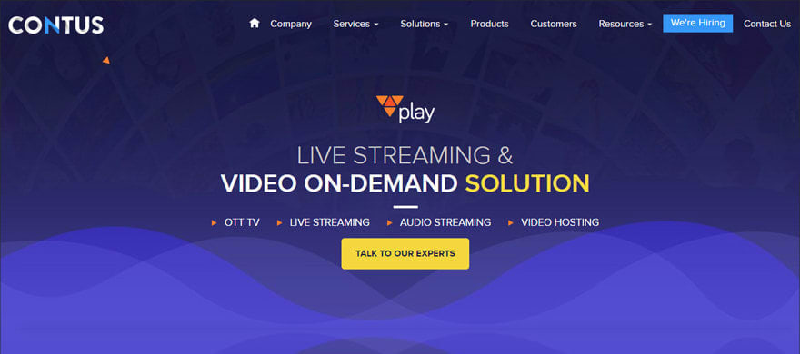 CONTUS Music Streaming Platform