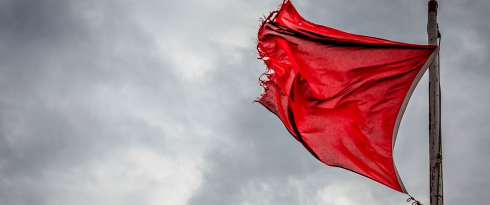 Cover image for What is your biggest 'red flag' when interviewing?