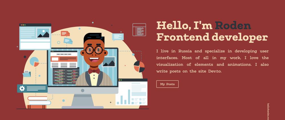 Cover image for 🧑💻 How I developed my portfolio for a month 🗓 + Demo 🍿