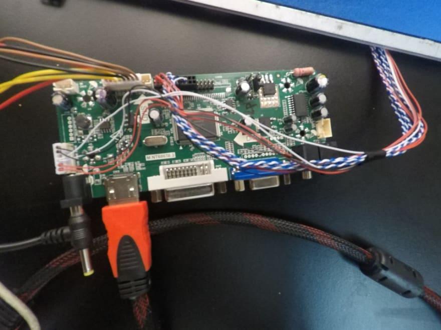 Hook up LCD à Raspberry pi