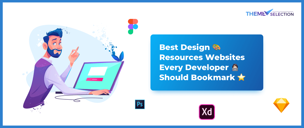 Cover image for Best design 🎨 resources websites every developer 💻 should bookmark🔖