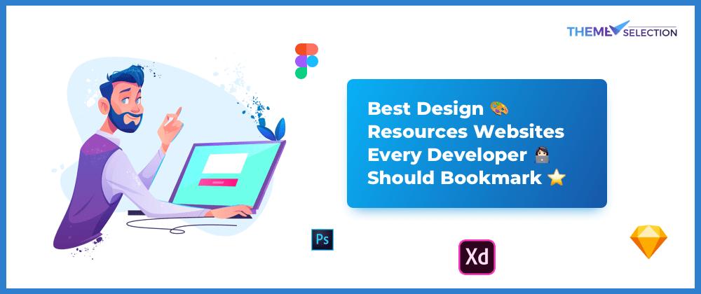 Cover image for Best design 🎨 resources websites every developer 💻 should bookmark🔖