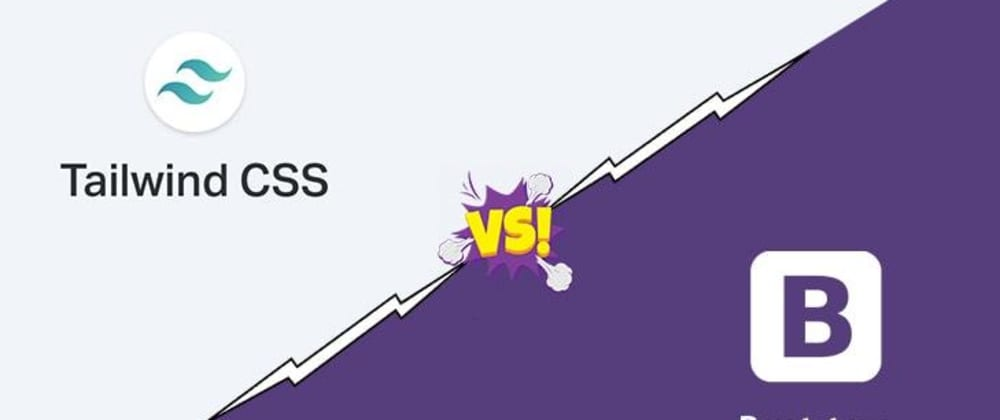 Cover image for Tailwind vs Bootstrap; Learn about the differences
