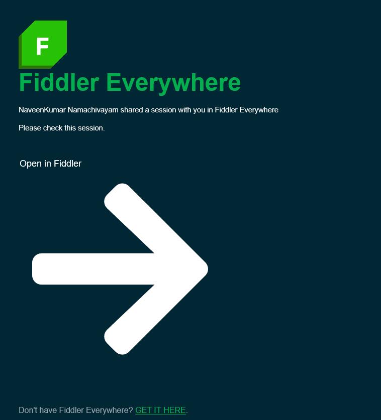 Fiddler Email