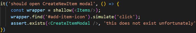 A mock function call in Mocha