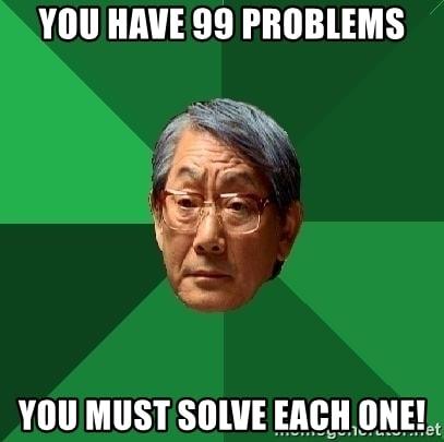 Problem Solving Meme
