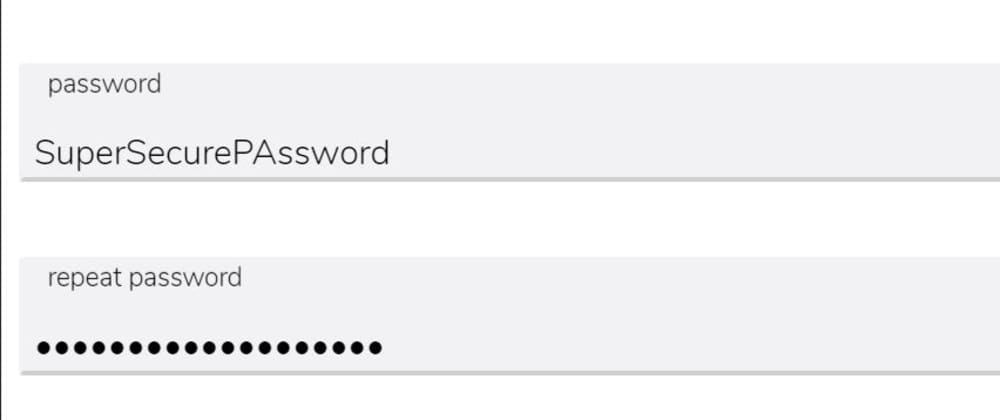 Cover image for Easy way to show/hide password for javascript beginners.