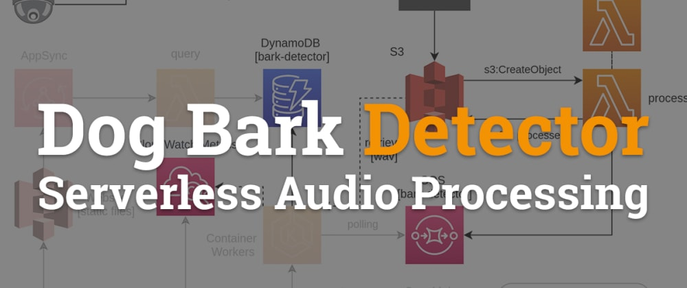 Cover image for Dog Bark Detector - Serverless Audio Processing