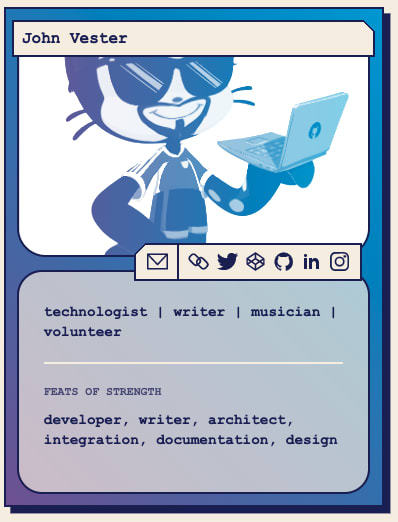 My Developer Trading Card