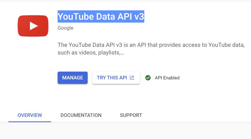 API enabled