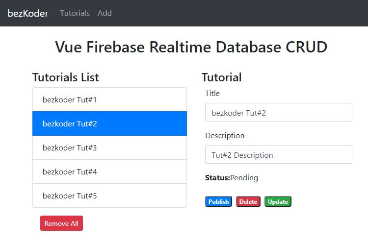 vuejs-firebase-database-crud-retrieve-all