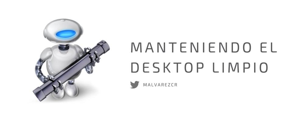 Cover image for Manteniendo el desktop limpio con Automator