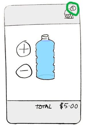 ugly water seller app, second version