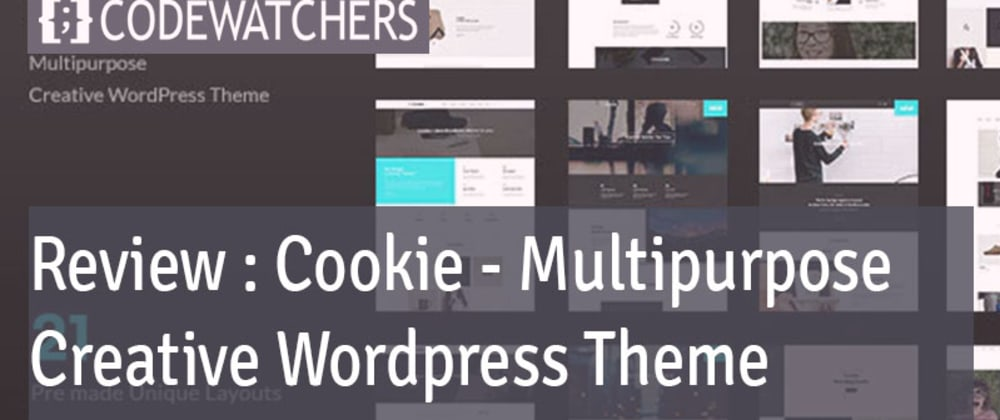 Cover image for Review: Cookie – Multipurpose Creative WordPress Theme