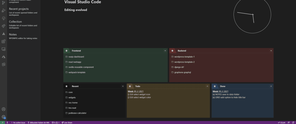 Cover image for Design your VS Code dashboard ✨