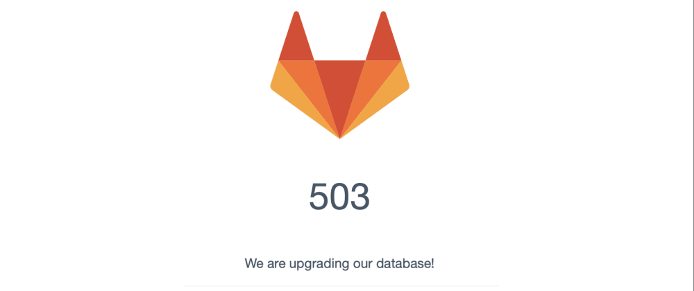 Cover image for GitLab is down! 😨