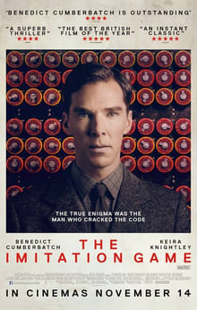 The Poster of Imitation Game - Justaashir