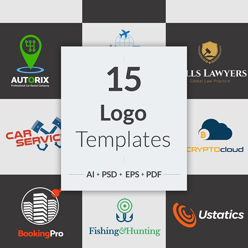 15 Niche Business Logo Templates
