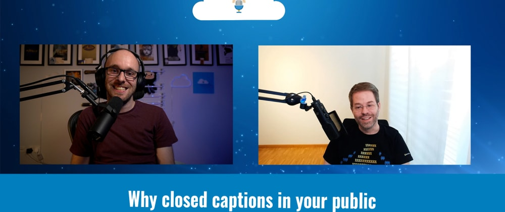 Cover image for Why closed captions in your public speaking may make a difference